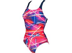 Arena Light Beams Badeanzug Swim Pro Back