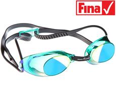 Mad Wave Liquid Racing Schwimmbrille - green