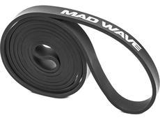 Mad Wave Long Resistance Band Trainingsband black (13.6-22.7 kg)