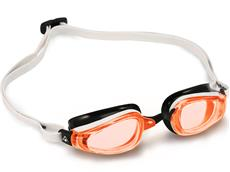 MP Michael Phelps K180 Schwimmbrille black-white/orange - Michael Phelps Edition