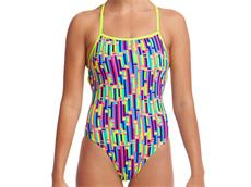 Funkita Mixed Signals Ladies Badeanzug Strapped In