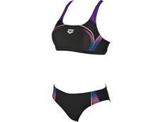 Arena Modular Schwimmbikini Swim Pro Top - 38 black/paparazzi