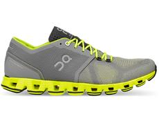 On Cloud X Herren Laufschuh - 46 (11.5 M) grey/neon