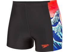Speedo OrigamiWave Aquashort Jungen Badehose Endurance10