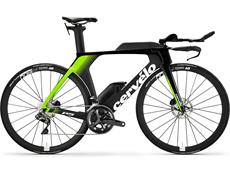 Cervelo P5 Disc Ultegra Di2 8080 Triathlonrad - 48/XS black/white