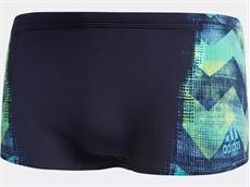 Adidas Performance Graphic Trunk Badehose legend ink/black - 5