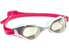 Adidas Persistar Comfort Mirror Schwimmbrille white-pink/ruby met