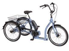 """Pfau-Tec Passo Shopping 24"""" Dreirad Elektrorad taubenblau"""