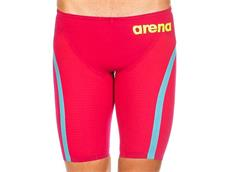 Arena Powerskin Carbon Flex VX Jammer Wettkampfhose - 00 bright red/turquoise