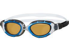 Zoggs Predator Flex P Ultra Reactor Schwimmbrille blue-metallic silver/copper