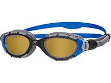 Zoggs Predator Flex Polarized Schwimmbrille black-blue/copper polarized