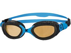 Zoggs Predator Flex Polarized Ultra Schwimmbrille black-blue/copper