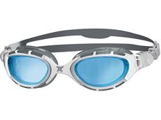 Zoggs Predator Flex Schwimmbrille grey-white/blue tinted