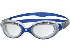 Zoggs Predator Flex Schwimmbrille silver-blue/clear