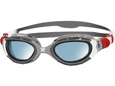 Zoggs Predator Flex Schwimmbrille - silver-grey/blue tinted