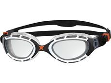 Zoggs Predator Flex Schwimmbrille white-black/clear