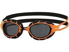 Zoggs Predator Polarized Schwimmbrille orange-black/smoke