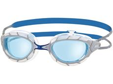 Zoggs Predator Wiro-Frame Schwimmbrille white-blue/blue tinted