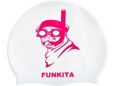 Funkita Princess Pug Silikon Badekappe