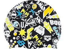 Arena Print Junior Silikon Badekappe