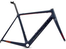 Cervelo R5 Rim Rahmenset - 58 navy/red/orange