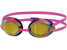 Zoggs Racespex Mirror Schwimmbrille pink-purple/mirror