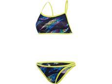 Speedo Rainsplash Flipturns Reverse Schwimmbikini  High Leg -  Endurance+