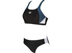 Arena Ren  Schwimmbikini - 38 black/shark/white