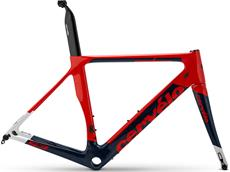 Cervelo S3 Disc Rahmenset - 56 red/blue/white