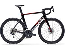 Cervelo S3 Disc Ultegra Di2 Rennrad - 56 graphite/black/red