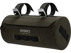 Brooks Scape Handlebar Pouch mud green