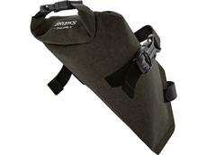 Brooks Scape Saddle Roll Bag mud green