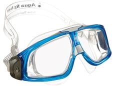 Aqua Sphere Seal Schwimmbrille - light blue-white/clear