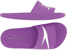 Speedo Slides Junior Badeschuhe - 34,5 purple