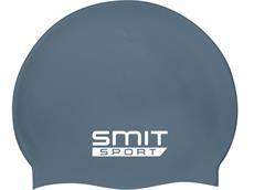 Smit Sport Soft Silikon Badekappe - dark grey