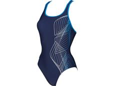 Arena Smoothness Badeanzug Swim Pro Back, Classic Bra