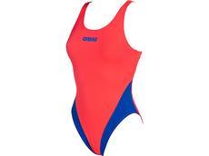 Arena Solid High Badeanzug Swim Tech Back