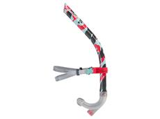 Speedo Centre Snorkel  Front-Schnorchel lava red/chili blue/grey