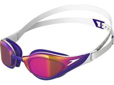 Speedo Fastskin Pure Focus Mirror Schwimmbrille white/violet/gold shadow