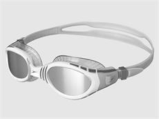 Speedo Futura Biofuse Flexiseal Mirror Schwimmbrille cool grey/white/silver