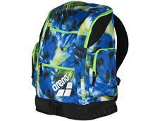 Arena Spiky 2 Large Backpack Rucksack Limited, 40 Liter - palms blue/green
