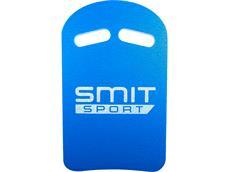 Smit Sport Kick Borad Schwimmbrett mit Griffmulden - blau/weiß