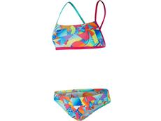 Speedo Sprectrum Splash Flipturns Schwimmbikini Crossback - Endurance+