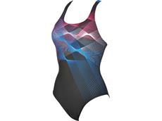 Arena Sprite Badeanzug Swim Pro Back - 36 black/pix blue