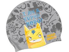 Mad Wave Super Hero Junior Silikon Badekappe