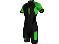 Arena SwimRun Wetsuit  Men Neoprenanzug black/fluo green