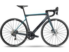 BMC Teammachine SLR01 Disc Two Ultegra Rennrad - 47 grey/blue