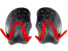 SpeedoTech Hand-Paddles red/grey