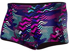 TYR Teramo All Over Trunk  Badehose purple/turquoise - 2
