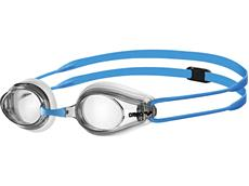 Arena Tracks Junior Schwimmbrille - blue-clear/clear